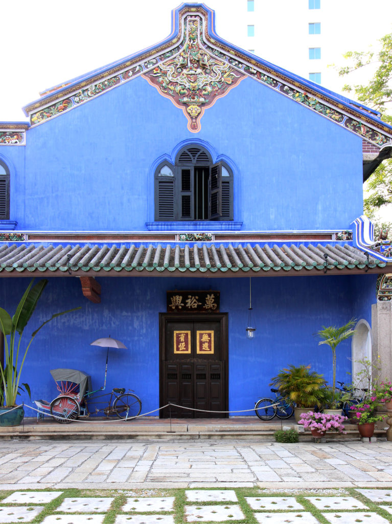 Architecture cheong fatt tze 39 s blue mansion hotel in penang for Terrace 9 classic penang
