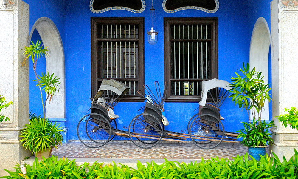 Cheong fatt tze the blue mansion tour times entrance fees for Terrace 9 classic penang